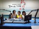 学生参加贺州市电台节目